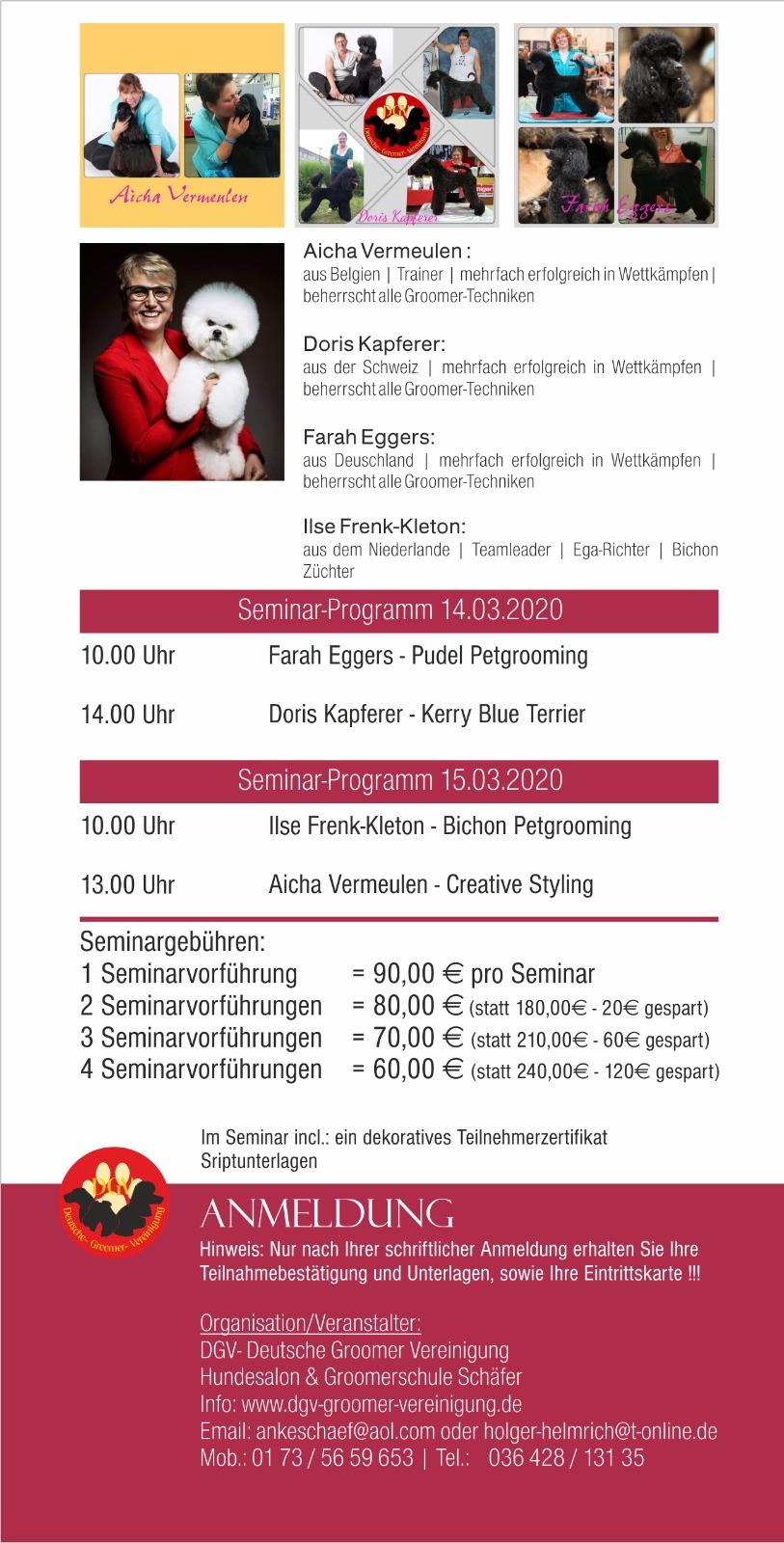 8. GGC - Seminar-Programm Flyer 2